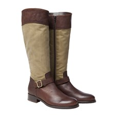 Beretta Woman Wax and Leather Boots