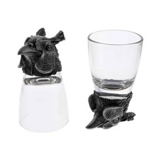 Beretta Pheasant Head Shot Glasses