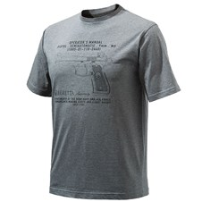 Beretta Men's Anniversary Pistol T-Shirt