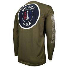 Beretta USA Logo Long Sleeve T-Shirt