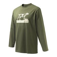 Pointer Sketch Long Sleeve T-Shirt