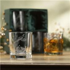 Pheasant Whiskey Glasses