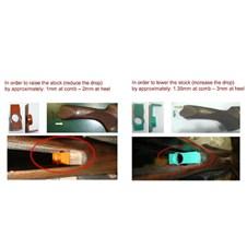 Beretta Stock Drop Adjustment Drop Kit for Perennia/Preveil