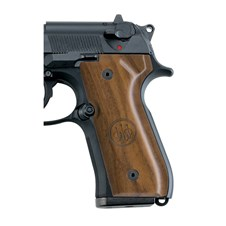 Beretta 92/96 Series Wood Grips with Trident Logo