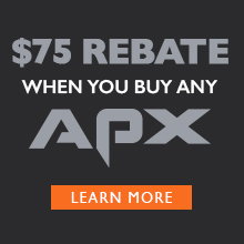 APX Promotion - $75 Rebate