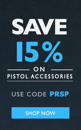 15% Off Pistol Accessories