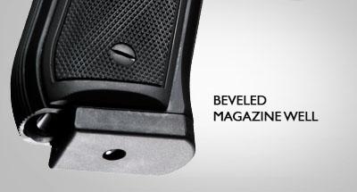 Beveled-magazine-well