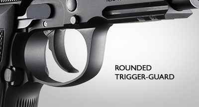 Rounded-Trigger-Guard