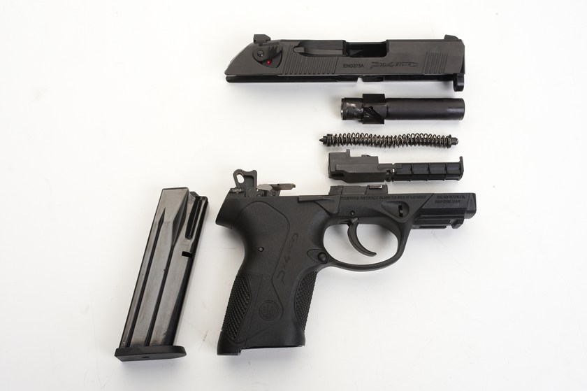 Beretta PX4 Storm (Disassembled)