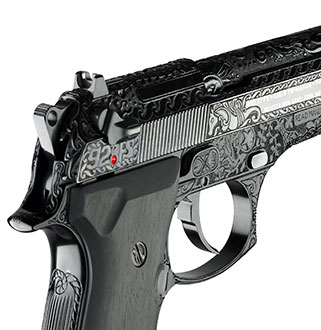 92fs Limited Edition Pistols Engraving - Premium
