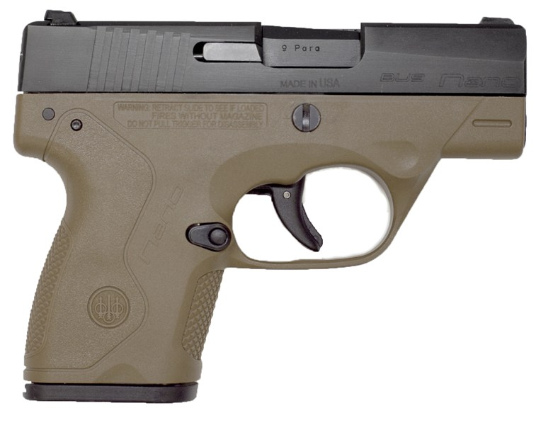 Beretta Nano Brown