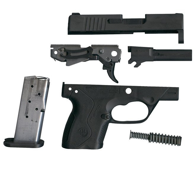 Beretta Nano Disassembled