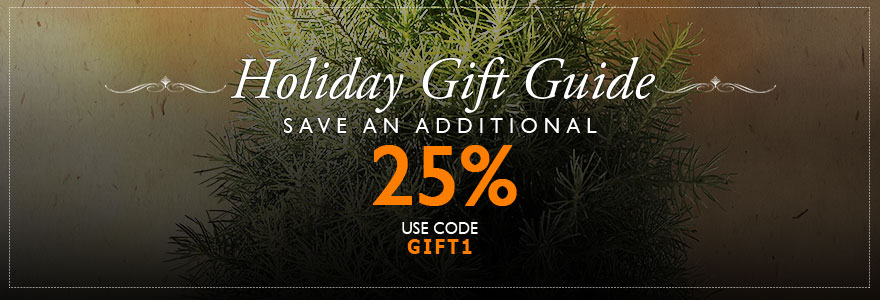 Gifts 25% Off