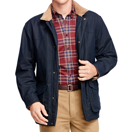 Brooks brothers and beretta wax jacket for Brooks brothers shirt size guide