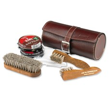 Cowhide Leather Shoeshine Kit