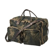 Campomaggi for Beretta Vin Duffle Camo Military Canvas Bag