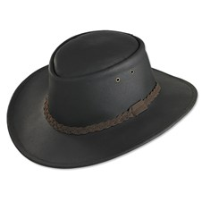 Leather Sportsman's Hat
