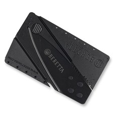 Credit Card Knife Black
