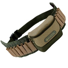 Beretta RETRIEVER Cartridge Belt, 20 leather loops, 12/20 Ga