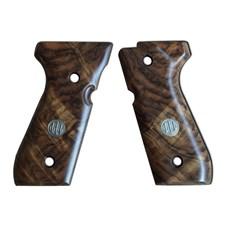 Beretta Deluxe Walnut Grips, Grade 3 for 92/96 Series