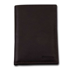 Beretta Vertical Leather Wallet brown MADE in ITALY