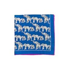 Beretta Elephant Print Silk Square