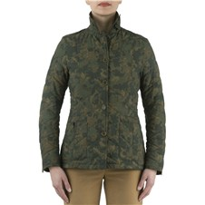 Beretta Woman's Country Classic Quilted Camo Coat