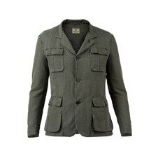 Beretta Men's Cotton & Linen Jacket