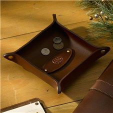 Beretta Leather Dresser Caddy