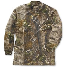 Beretta Long Sleeve Mock Turtleneck AP Camo