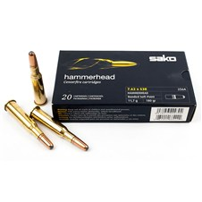 Sako Rifle Ammunition – Hammerhead