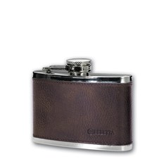 Beretta Stainless Steel Leather Flask (4 oz.)