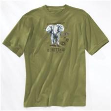 Beretta Sport Safari Elephant T Shirt