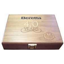 Beretta Pistol Wood Box for 92 470TH Anniversary