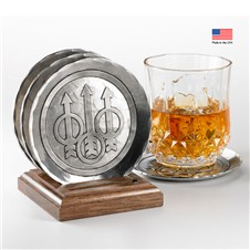 Beretta Heritage Hand-Wrought Coaster Set