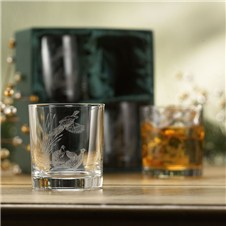 Pheasant Whiskey Glasses