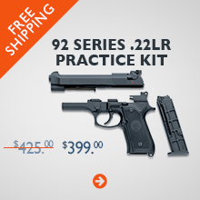 Beretta 92 Series .22LR Practice Kit