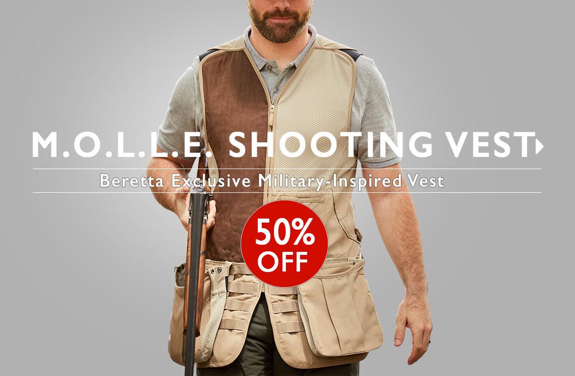 M.O.L.L.E Shooting Vest