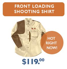Front Loading Shooting Shirt