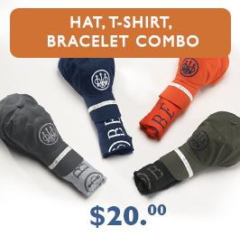 Beretta Hat, T-Shirt, Bracelet Combo