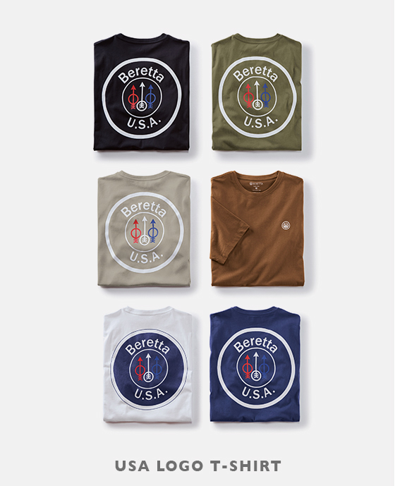 USA LOGO T-SHIRTS