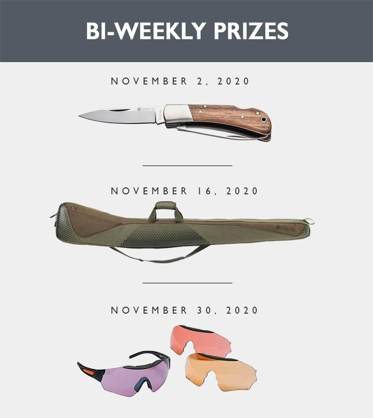 Bi Weekly Prizes