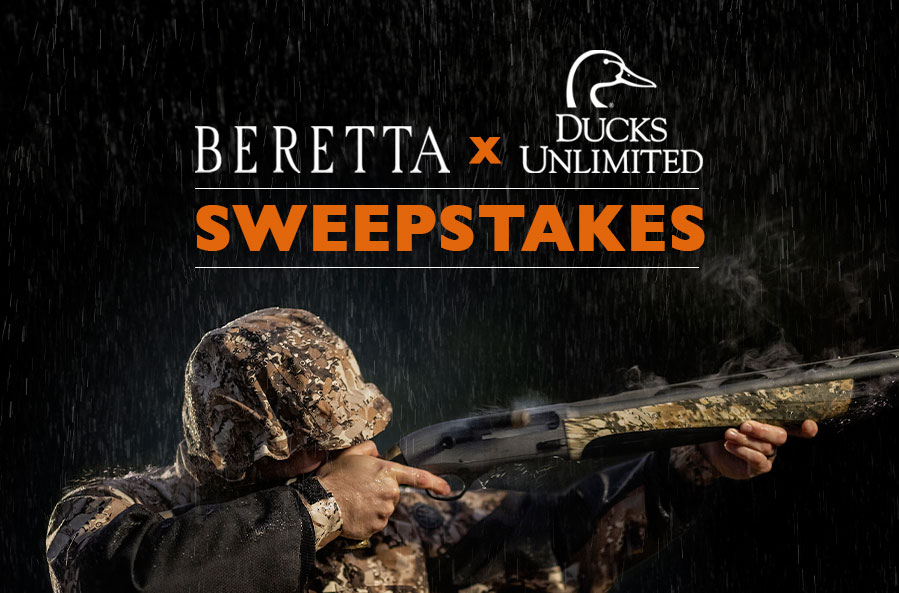 Beretta Ducks Unlimited sweepstakes