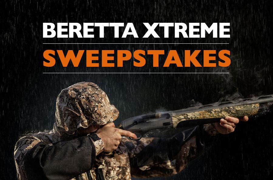 Beretta Ducks Unlimited sweepstakes