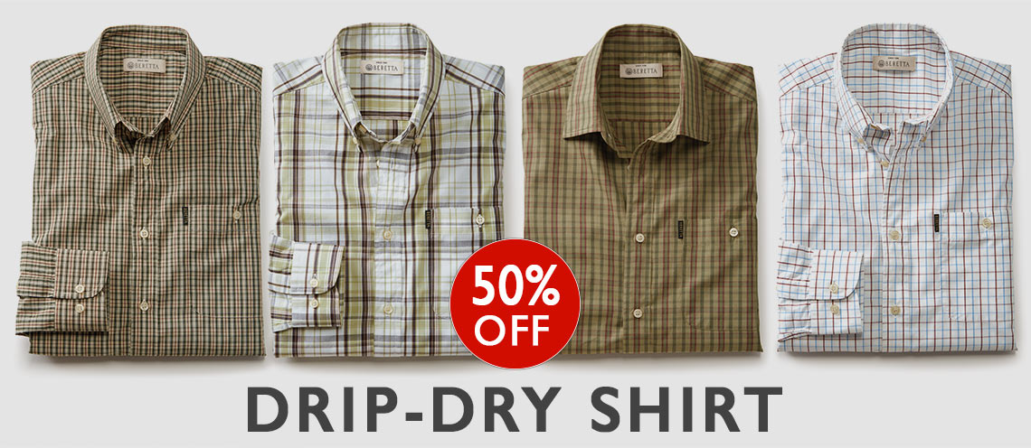 Drip-Dry Shirts