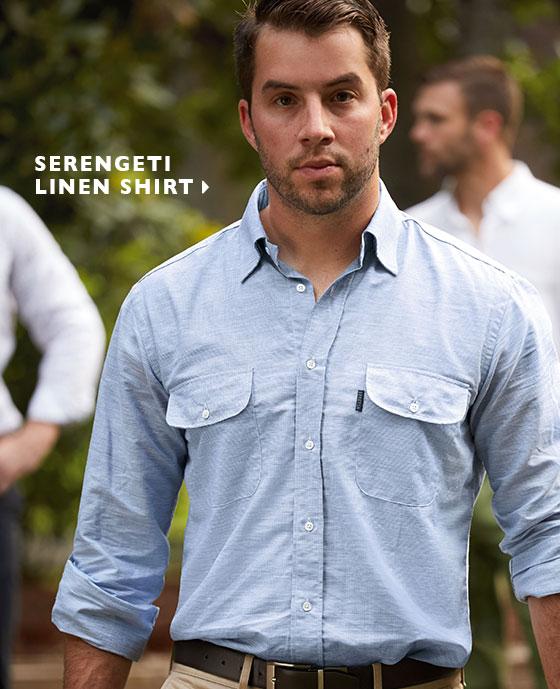 Serengeti Linen Shirt