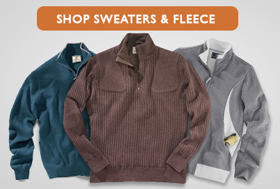 Shop Sweaters and Fleece