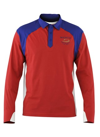 Beretta Double Collar Long Sleeves T - Shirt